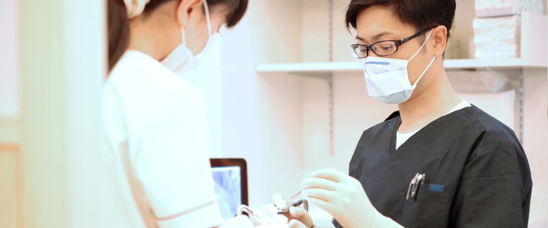ひさとみ歯科クリニック治療の様子